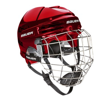 Helm BAUER RE-AKT 75 Combo - RED