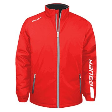 Jacke BAUER EU WINTER JACKET SR ( senior) - ROT