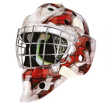 Maske G.BAUER NME4 S-17 JR - WALL-RED