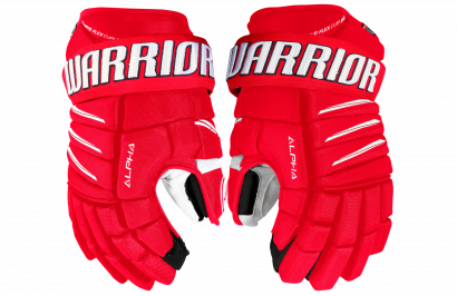 Handschuhe WARRIOR ALPHA QX PRO SR RDW (RED/WHITE)