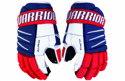 Handschuhe WARRIOR ALPHA QX3 JR RRW (RL/RD/WH)