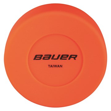 Puck BAUER Floor Hockey - Orange - 1 ks