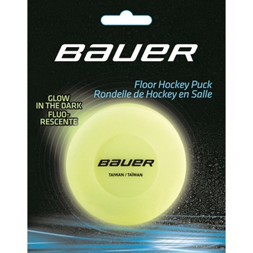 Puck BAUER Glow in the dark